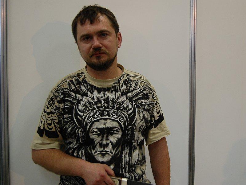 Ножовий майстер Лещук Олег Миколайович